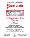 Snow Birthday Party